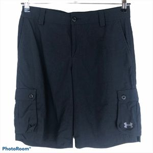 Under Armour Youth Ripstop Cargo Hiking Shorts XL